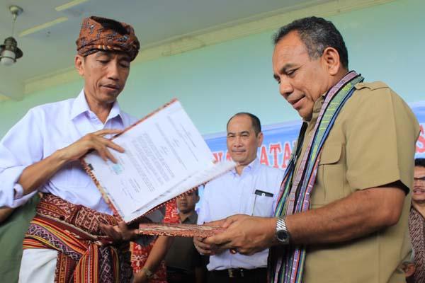 Jokowi dan Gubernur NTT Akan Digugat