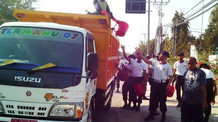 Butuh 20 Truk dan 125 Tenaga untuk Jadikan Maumere Bersih