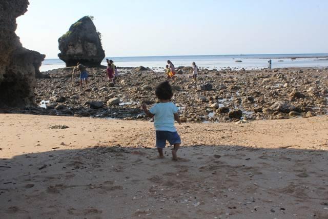 Pantai Leli jadi Obyek wisata baru bagi warga Rote
