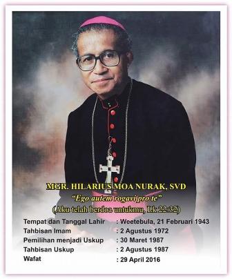 Lantunan Syair Adat Maumere Lepas Uskup Hilarius