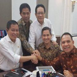 Menteri ESDM-Gubernur NTT Bahas Pembangunan Jembatan Palmerah