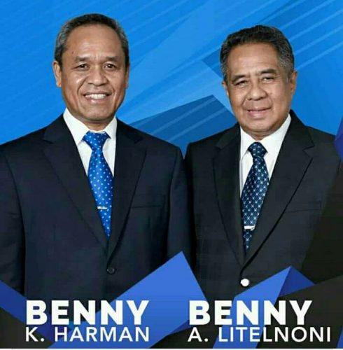 Koalisi Partai Demokrat, Hanura dan PKPI usung Beny-Beny