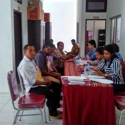 210 Calon Anggota PPK Ikut Ujian Wawancara di KPUD Ende