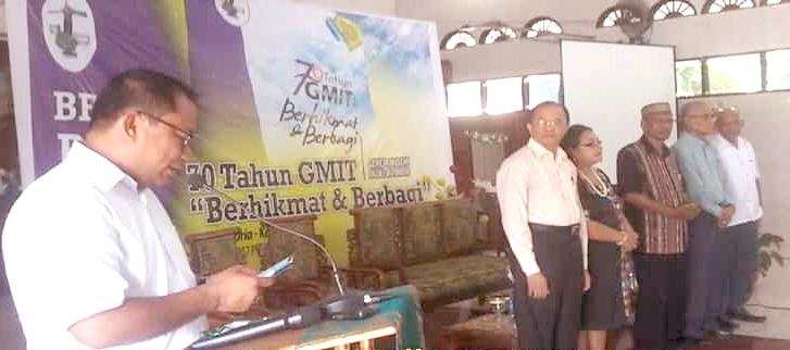 """Refleksi 70 Tahun, GMIT Luncurkan Buku """"Berhikmat dan Berbagi"""""""
