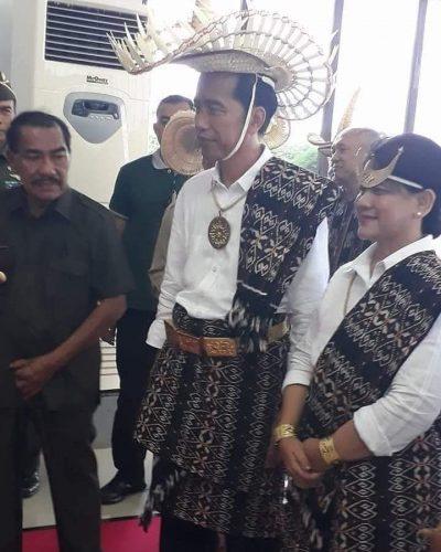 Presiden Jokowi bermalam di Rote