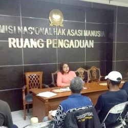 Warga NTT di Jakarta mengadukan Cagub MS ke Komnas HAM