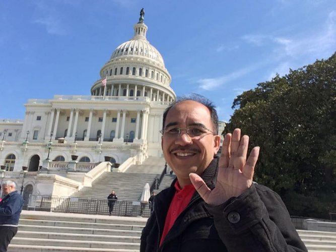 Walikota Kupang Jefri Riwu Kore berkunjung ke Amerika