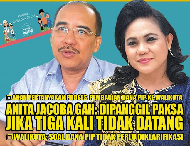 Anita Jacoba Gah: Dipanggil paksa jika tiga kali tidak datang