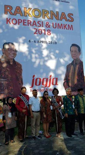 Dinas Koperasi Kota Kupang Terima Penghargaan Dari Menteri Koperasi