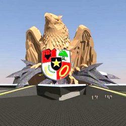 Gubernur Frans Lebu Raya lakukan peletakan batu pertama Monumen Pancasila