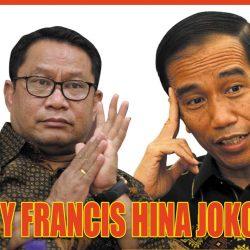 Fary Francis Ketua Komisi V DPR RI menghina Presiden Jokowi