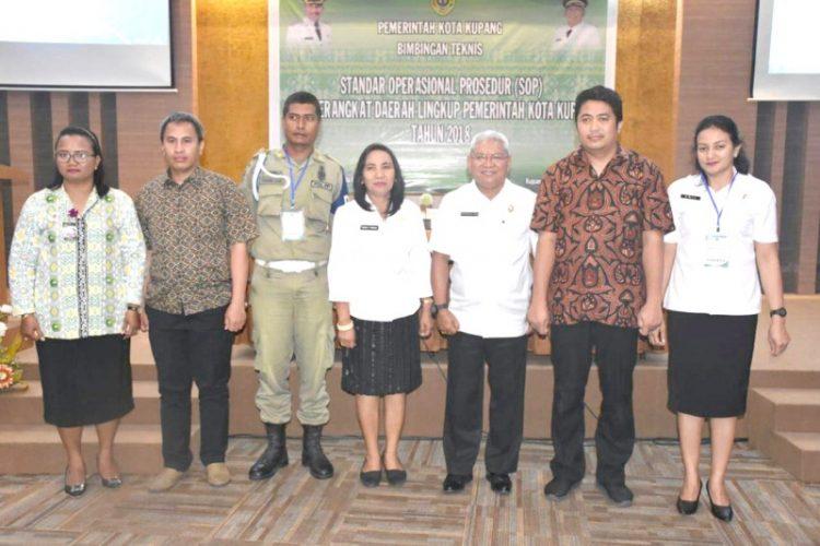 60 Perwakilan OPD Kota Kupang Ikut Bimtek SOP