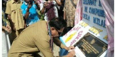 Setahun Duet Kepemimpinan Sunur-Langoday Dirayakan Bersama Masyarakat Kampung Nilanapo