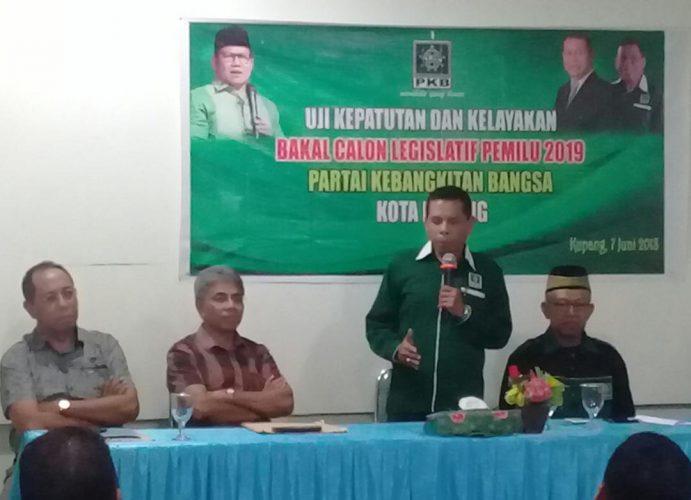 Caleg PKB Kota Kupang Harus Penuhi 3 Kriteria Standar