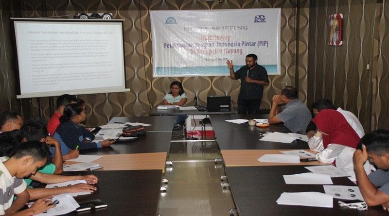 Bengkel Appek Merilis Survey Pelaksanaan Program PIP Di Kabupaten Kupang