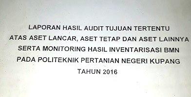 Direktur Politani Kupang Diduga Turut Ambil Bagian Dugaan Penyelewengan Beasiswa