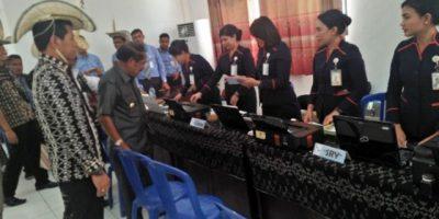 Bupati Haning, Buka Pekan Panutan Pajak 2018