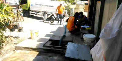 BPBD Kota Kupang Bantu Warga Fatululi Air Bersih