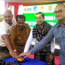 Menteri BUMN resmikan BTS Tenaga Surya di Oebela, Pulau Rote