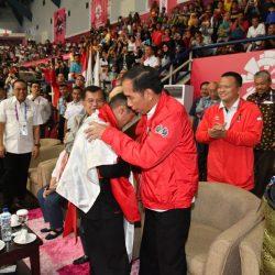 Pesilat Hanifan Mampu Satukan Jokowi-Prabowo dalam Pelukan