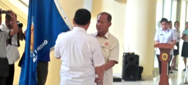 Bupati Rote Ndao, Lepas 107 Kontigen Kejurda Asal Rote Ndao