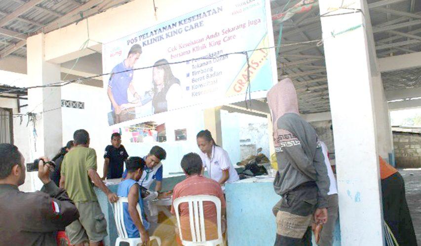 Gratis!, Layanan Pos Tensi Klinik King Care di Semua Pasar Kota Kupang