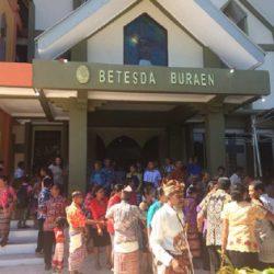 Jemaat Betesda Buraen Klasis Amarasi Timur Memiliki Gedung Gereja Permanen
