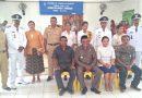 Camat Pantai Baru Lantik Tiga Penjabat Kades