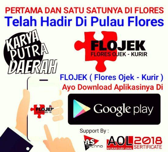 Aplikasi Ojek Lokal Telah hadir di Flores