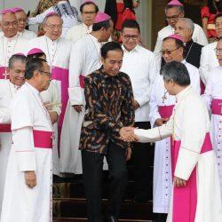 Jokowi dan Para Uskup se Indonesia Sepakat: Kita Bersaudara