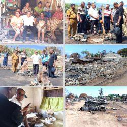 Kadis Sosial NTT kunjungi Kampung Adat Nggela Ende Terbakar