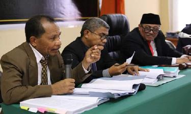 DKPP Gelar Sidang Aduan Dugaan Pelanggaran Kode Etik Di Kupang