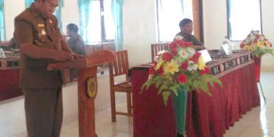 Wakil Bupati Rote Ndao Buka Pemutakhiran Data Tindak Lanjut Hasil Temuan Pengawasan