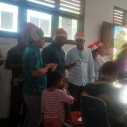 SMK Negeri 1 Panbar Gelar Natal, Pendeta Ajak Maknai Natal dengan Megabdi dengan Iklas