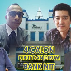 4 Calon Dirut dan Dirum Bank NTT
