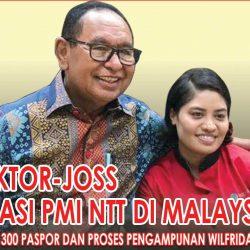 Viktor-Joss Atasi PMI NTT di Malaysia