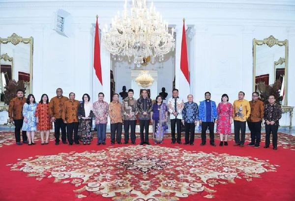 Ketum PGI Mengundang Presiden RI Menghadiri Sidang Raya PGI XVII di Sumba