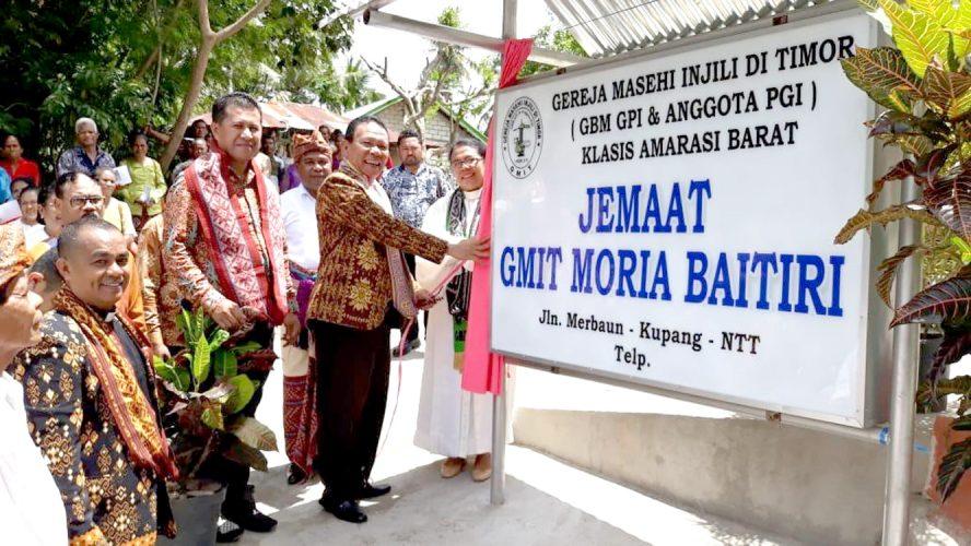 Plt. Bupati Kupang resmikan gereja GMIT Moria Baitiri Merbaun