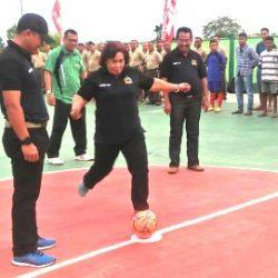 45 Tim Futsal, bertanding futsal rebut Piala Dandim CUP I