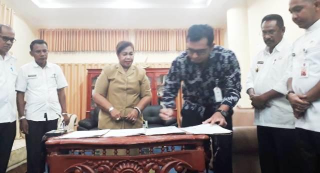 Bupati Paulina : BPJS Harus Optimal Beri Pelayanan Kepada Masyarakat