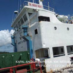 100 Ton Pupuk Kaltim tiba di Pelabuhan Ba'a