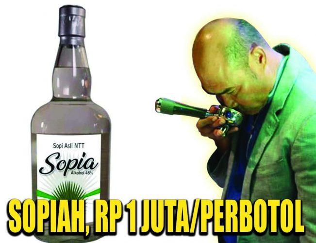 Sopiah, Rp 1 Juta/Perbotol