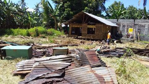 Tak Dukung Caleg Jagoan Pemilik Tanah, 4 Rumah Warga Digusur dan Mau Dibakar