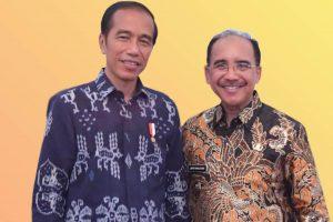 Jefri Riwu Kore bicara langsung dengan Jokowi