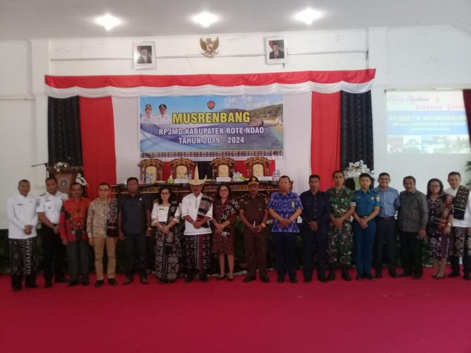 Pemkab Rote Ndao Gelar Musrenbang RPJMD 2019-2024