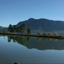 Menikmati Panorama Embung Boelanboong di Ende