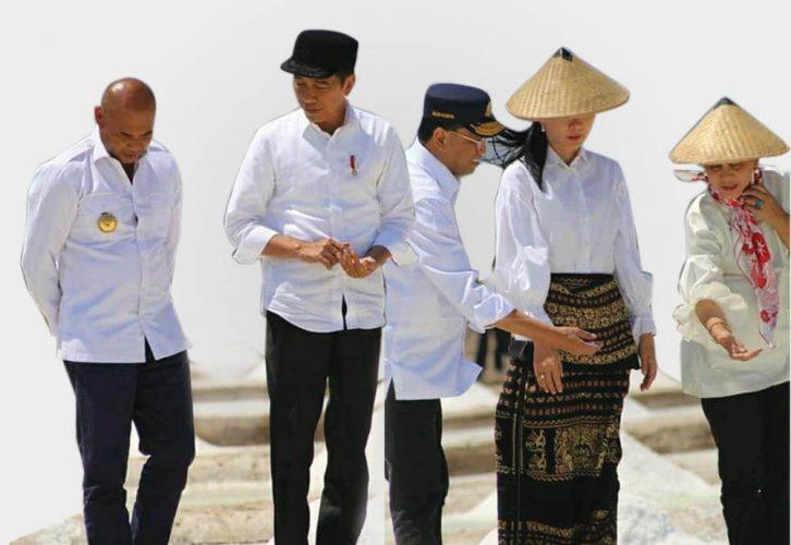 Jokowi Puji Garam NTT