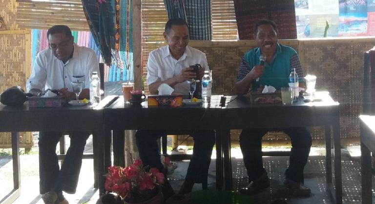 Wakil Bupati ajak wartawan Kerjasama Bangun Ende