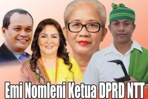 Emi Nomleni Ketua DPRD NTT