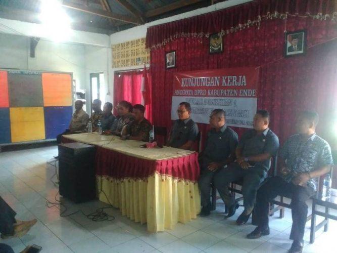 Anggota DPRD Ende Dapil 1 Kunker Di Kecamatan Ende Tengah
